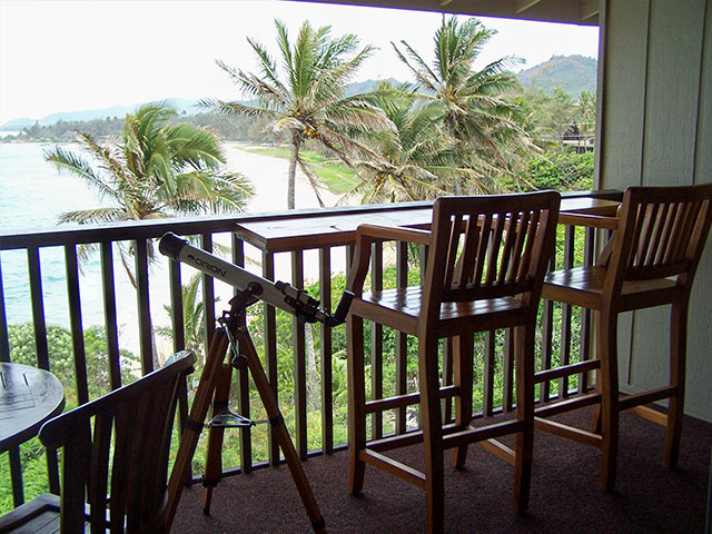 305, oceanfront view of Wailua Bay