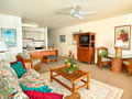 Living room of kauai vacation rental